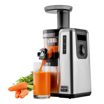 Hurom HZ Slow Juicer, Stainless Steel