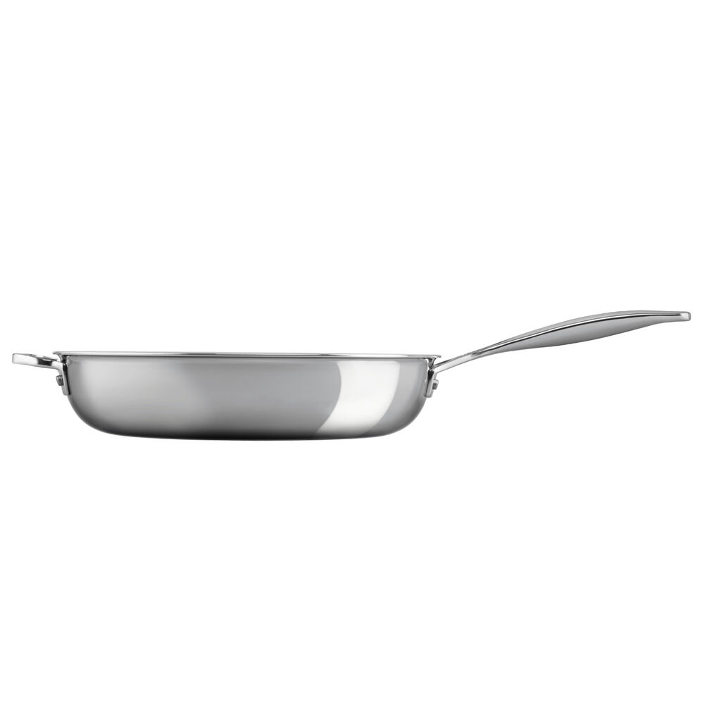 Le Creuset Stainless Steel Deep Skillet, 12.5""