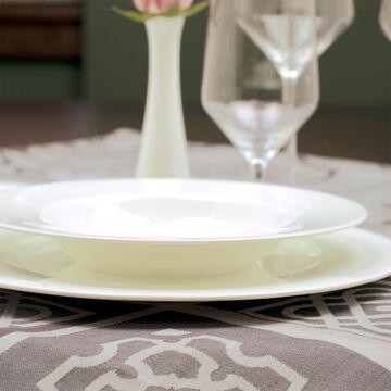 Fortessa Taura Bone China Soup Plates, Set of 4