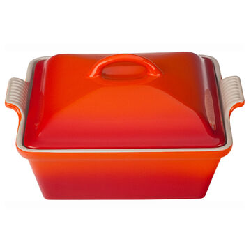 Le Creuset Heritage Square Covered Baker, 9""