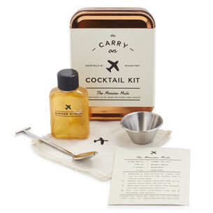 W&P Moscow Mule Carry-On Cocktail Kit
