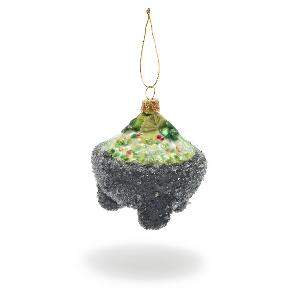 Molcajete Glass Ornament