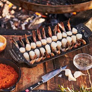 Sur La Table Cast Iron Shrimp Pan