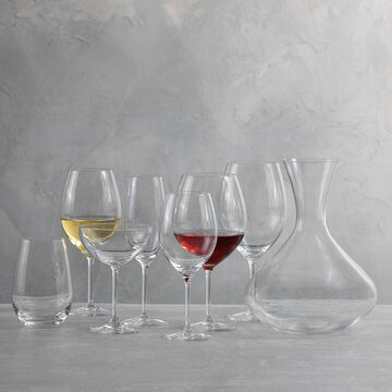 Schott Zwiesel Cru Full-Bodied White Wine Glasses, Set of 8