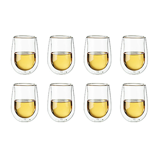 Zwilling J.A. Henckels Sorrento Double-Wall White Wine Stemless Glasses