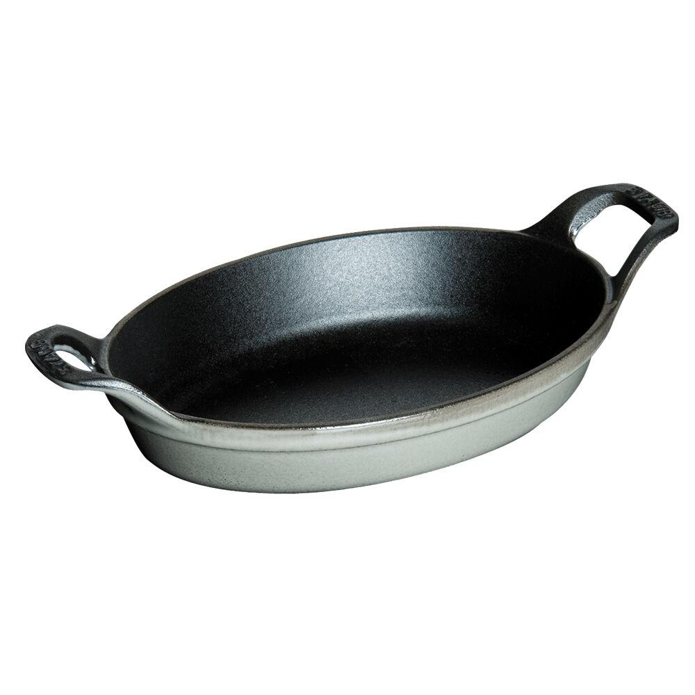 Staub Mini Oval Roasting Dish, 8 oz.