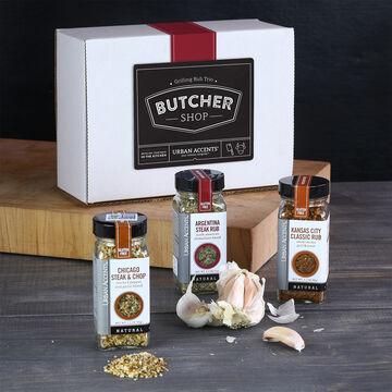 Butcher Shop Grilling Rubs Gift Set
