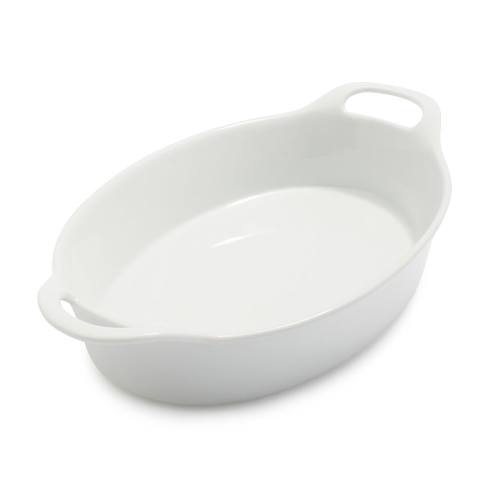 Oval Porcelain Baker, 1.8 qt.