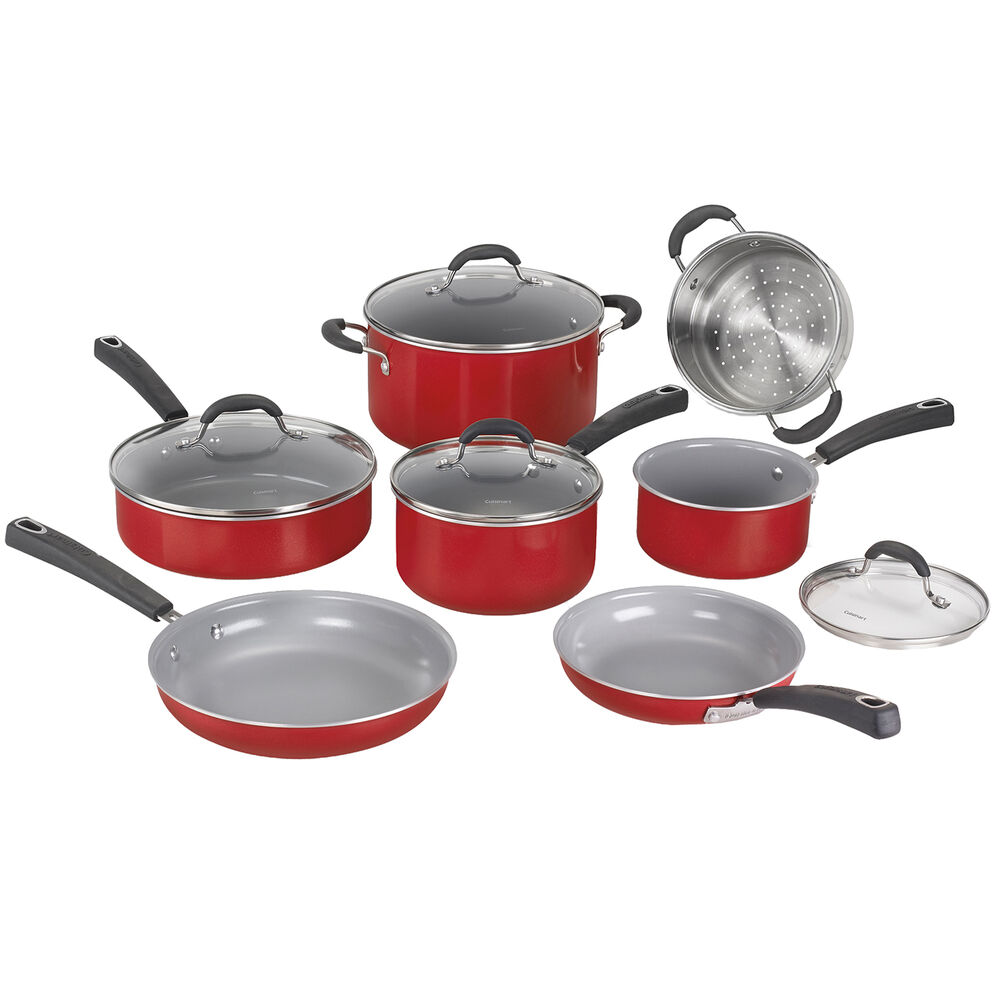 Cuisinart Advantage Ceramica XT Nonstick 11-Piece Cookware Set
