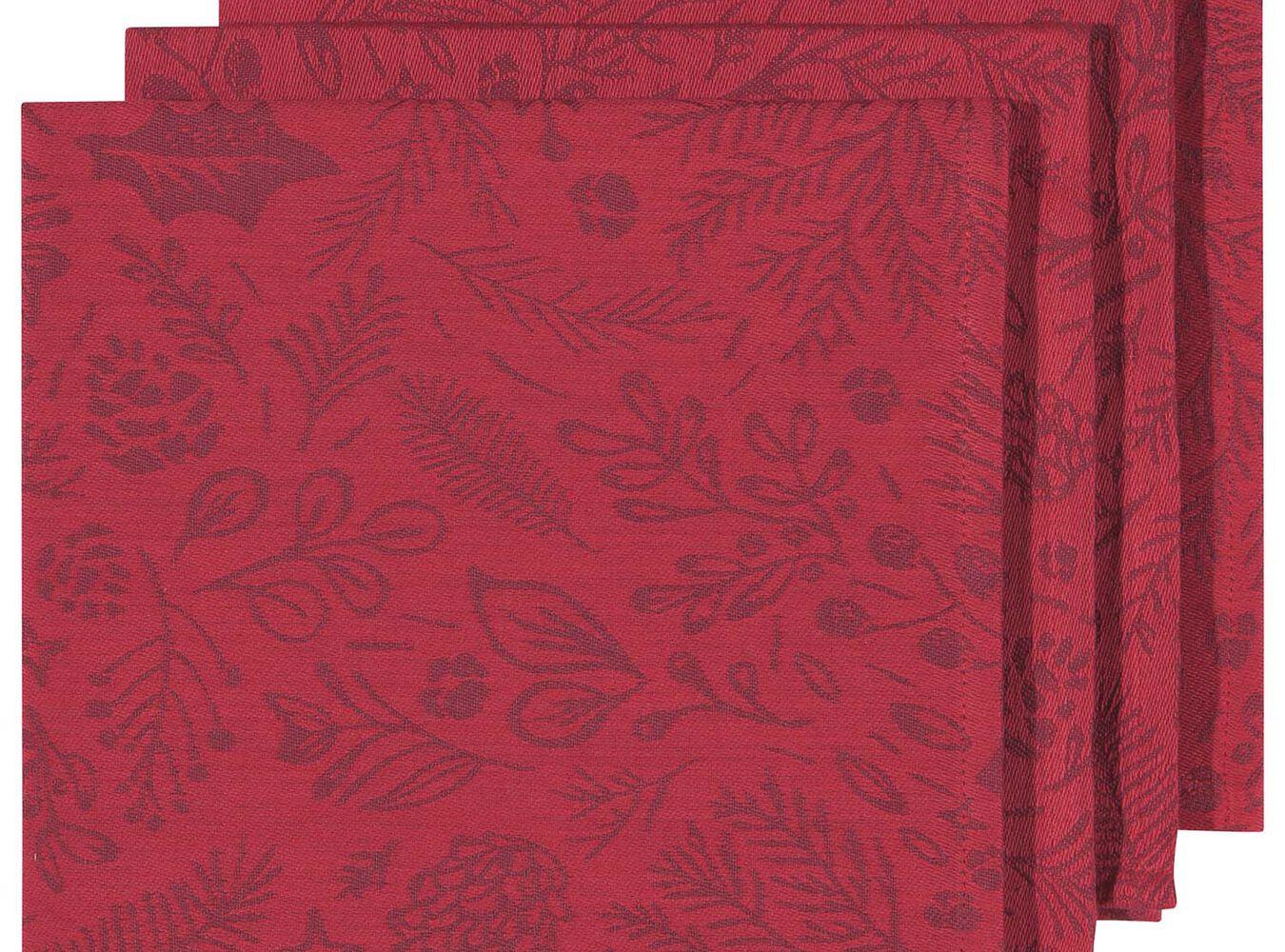 Jacquard Woodland Napkins, Set of 4 | Sur La Table