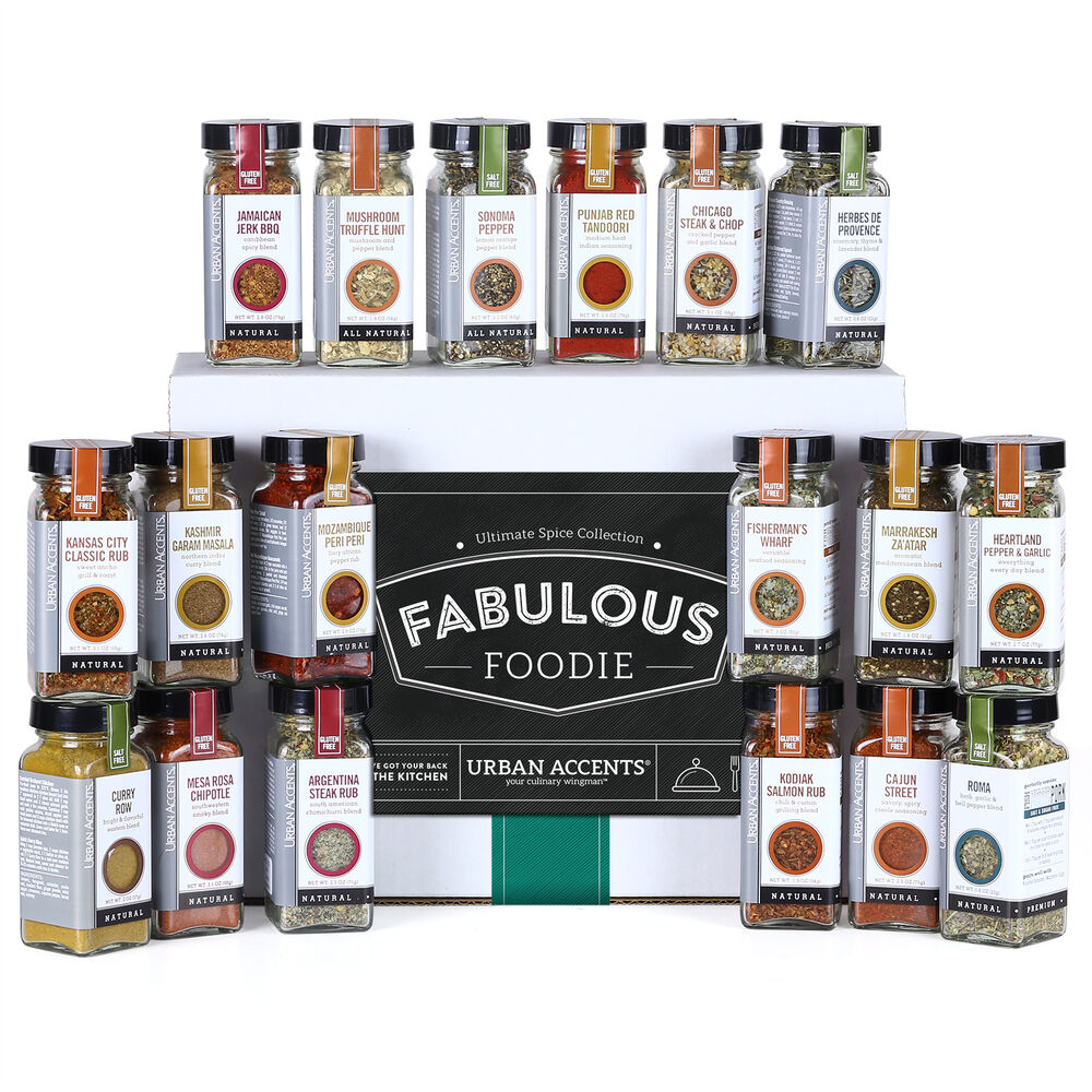Fabulous Foodie Ultimate Spice Collection Gift Set