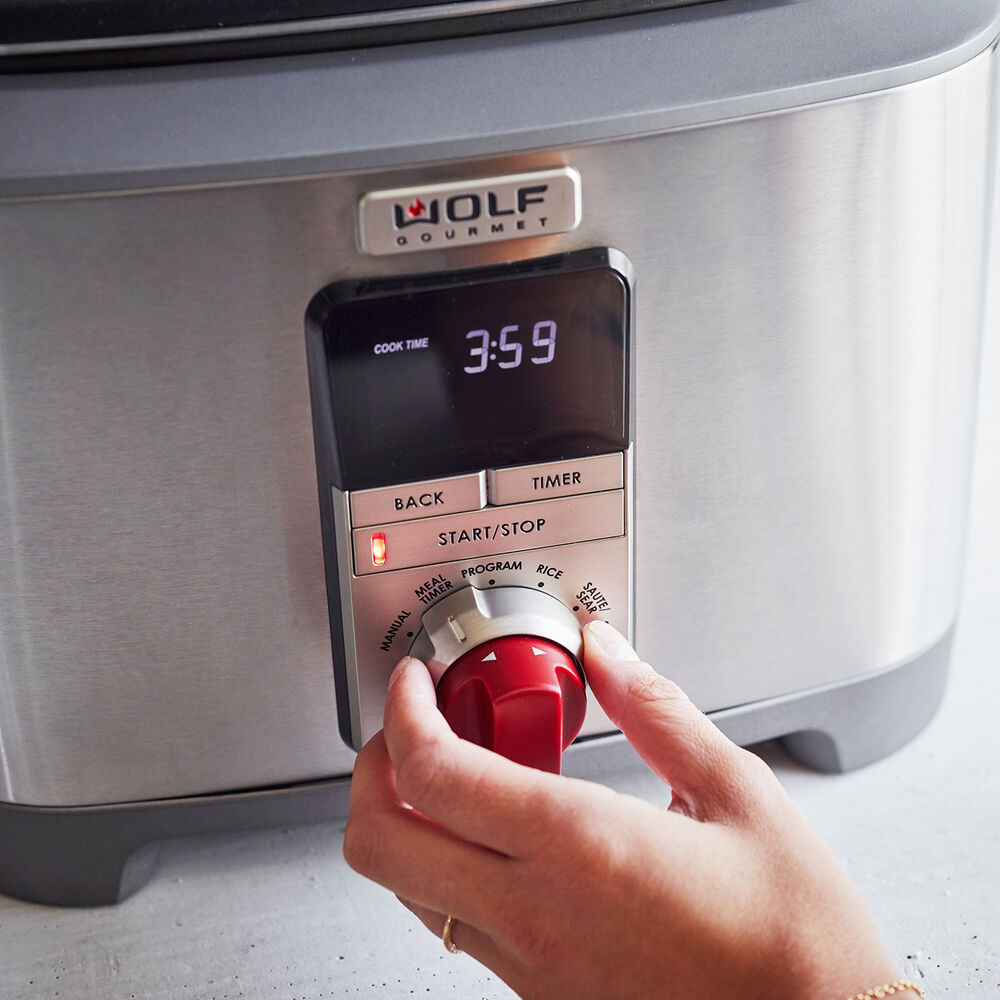 Wolf Gourmet Multi-Function Cooker, 7 qt.