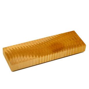Larch Wood Tiger-Stripe Buffet Cutting Board