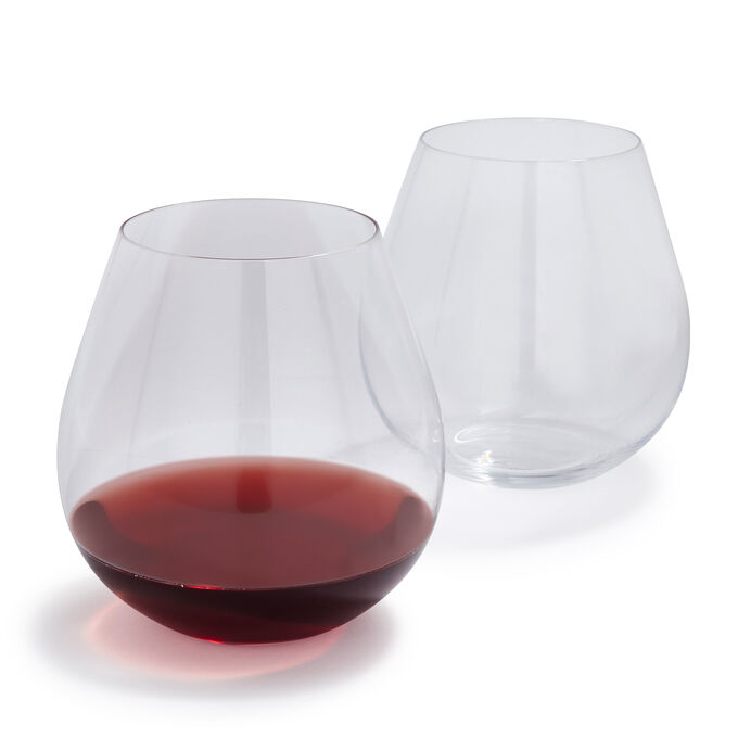 Riedel O Pinot Noir Stemless Wine Glasses, Set of 2