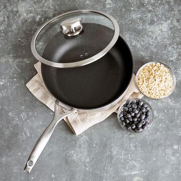 Scanpan CS+ Deep Sauté Pan with Lid, 4 qt.