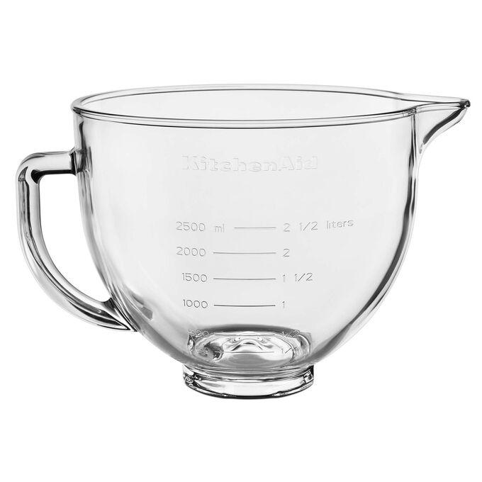 KitchenAid Tilt-Head Glass Mixing Bowl, 5 Qt.
