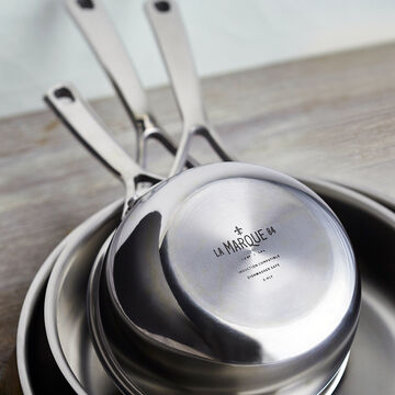 La Marque 84 Stainless Steel Butter Warmer, 0.6 qt.