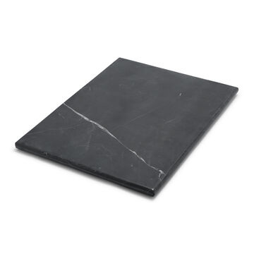 Rectangular Marquina Marble Serving Board