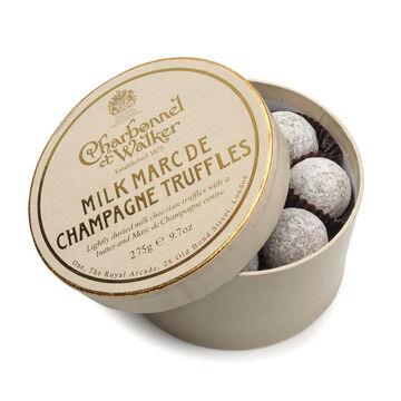 Milk Chocolate Marc de Champagne Truffles, 9.7 oz.