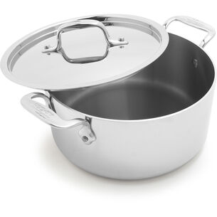 All-Clad d3 Stainless Steel Casserole Pan with Lid