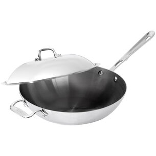 """All-Clad Copper Core Chef's Pan with Lid, 12"""""""