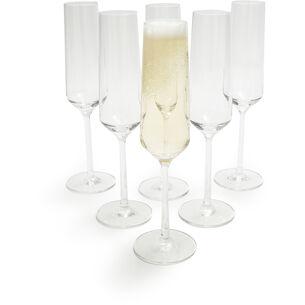 Schott Zwiesel Pure Champagne Flutes, Set of 6