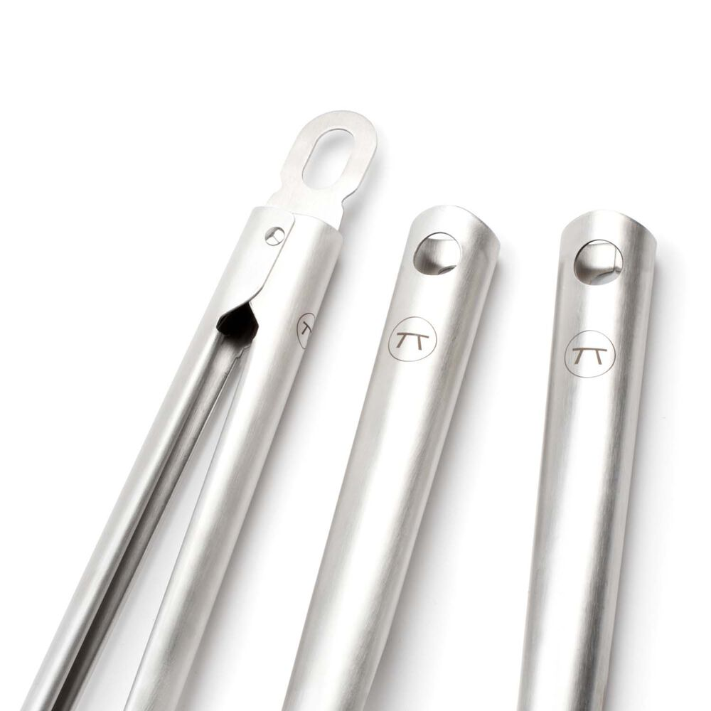 Stainless Steel BBQ Tools, Set of 3