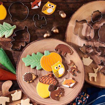Sur La Table Woodland Cookie Cutters, Set of 6