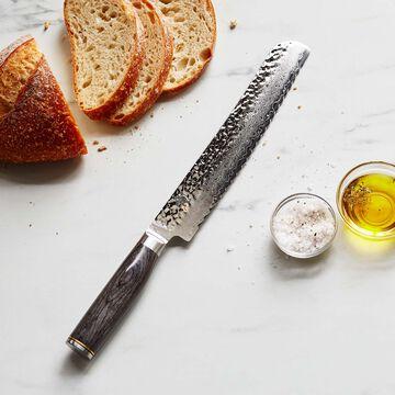 """Shun Premier Grey Bread Knife, 9"""""""