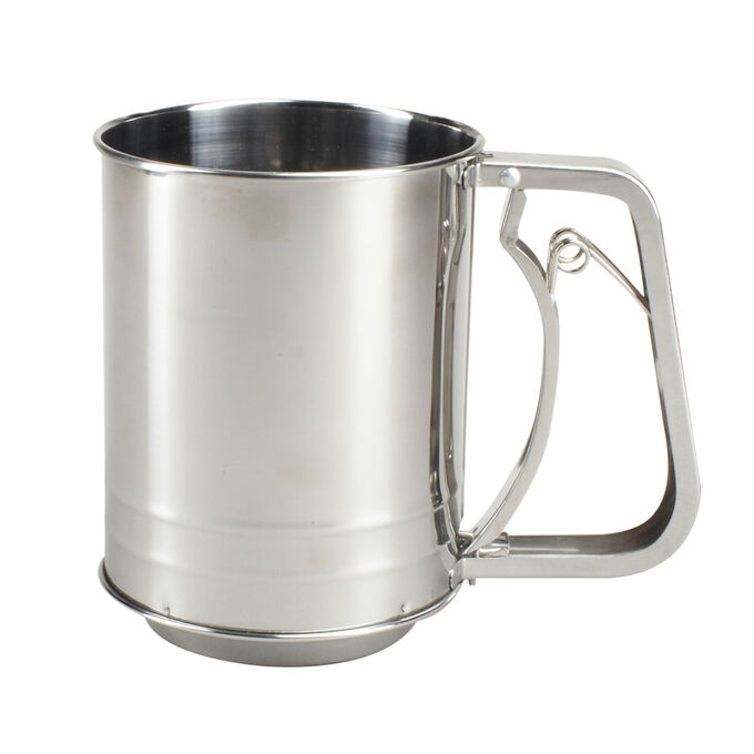 Sur La Table Stainless Steel Sifter, 5 cup