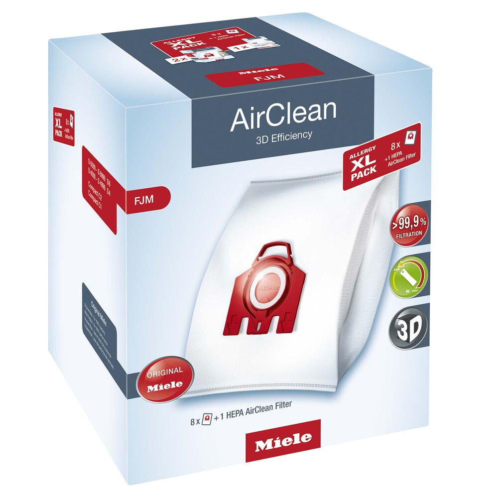 Miele AirClean 3D Allergy Pack FJM, X-Large