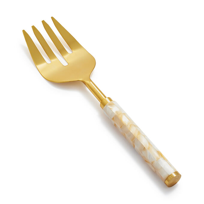 Mother-of-Pearl Serving Fork