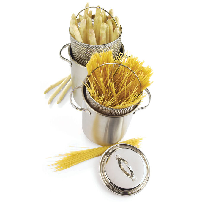 Demeyere RESTO Asparagus Steamer, 4 qt.
