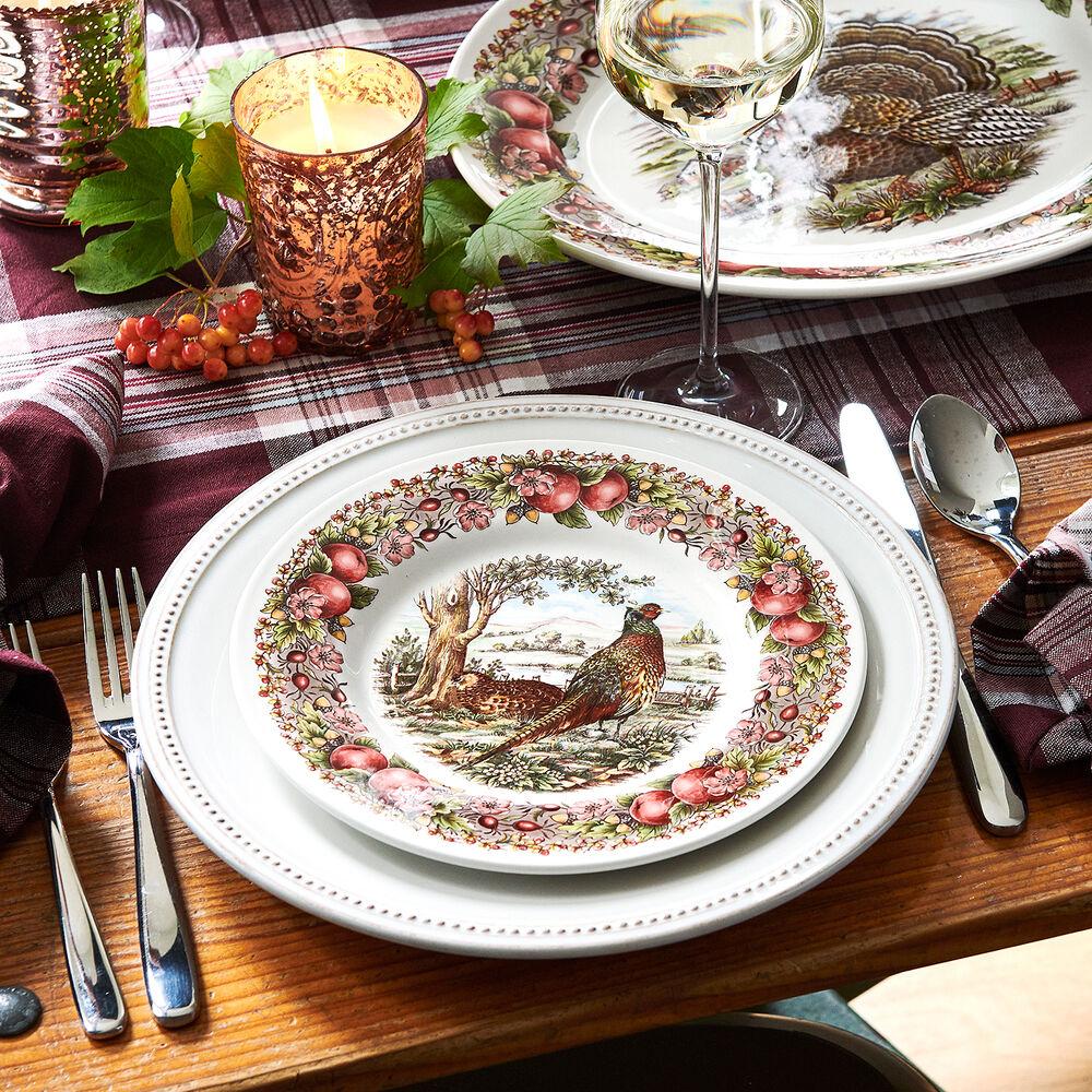"Royal Stafford Pheasant Salad Plate, 8.5"""