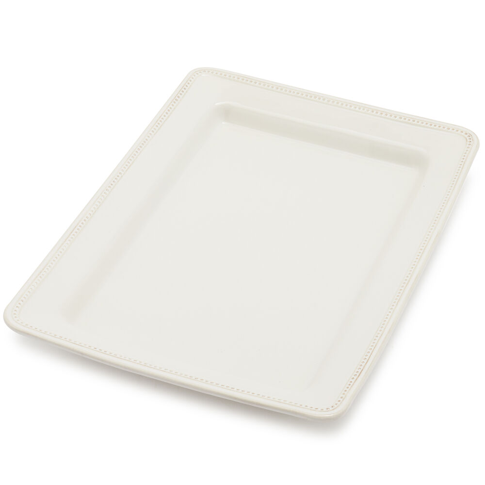 Pearl Stoneware Serve Platter