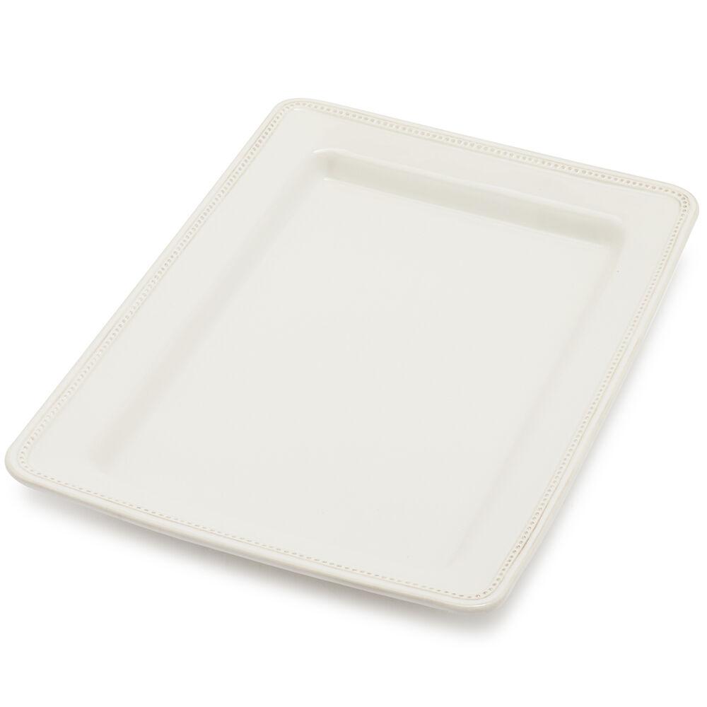 Pearl Stoneware Serve Platter