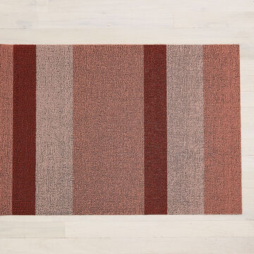"Chilewich Peach Shag Indoor/Outdoor Rug, 36"" x 24"""