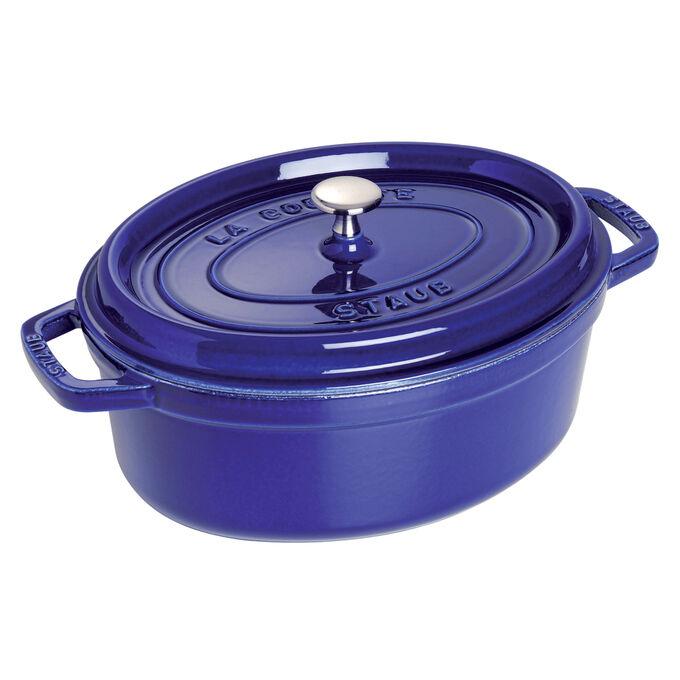 Staub Marin-Blue Oval Cocotte