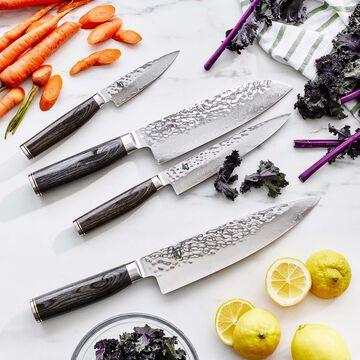 "Shun Premier Grey Santoku Knife, 7"""
