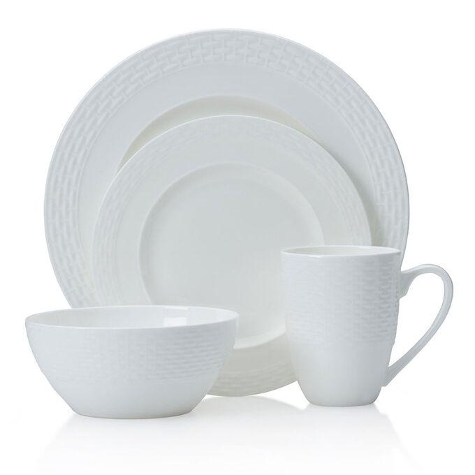 Ortley 16-Piece Bone China Dinnerware Set