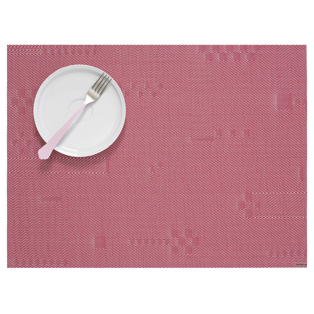 Chilewich Pixel Raspberry Placemat