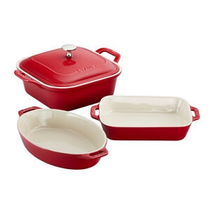 Staub 4-Piece Baking Dish Set