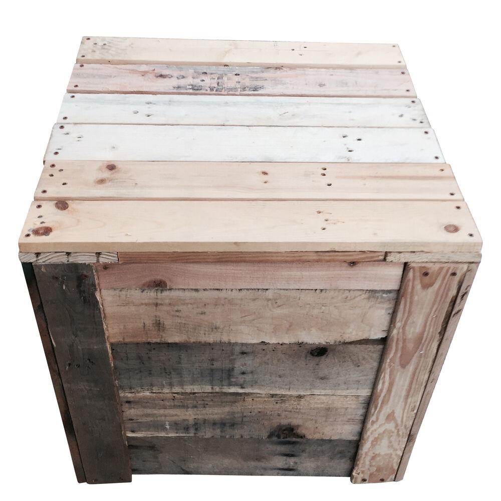 LadyBagsSF Reclaimed Wood Compost Bin