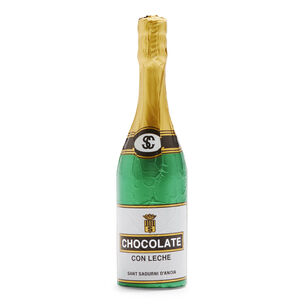 Simón Coll Milk Chocolate Champagne Bottle
