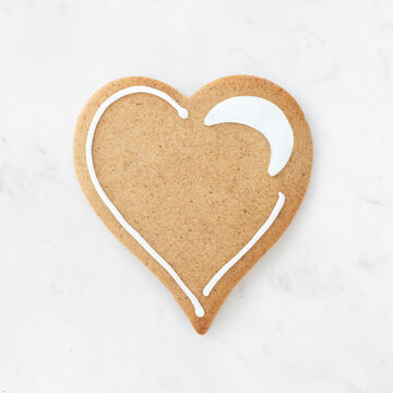 Sur La Table Copper-Plated Heart Cookie Cutters with Handle