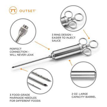 Steel Meat Injector, Set of 6