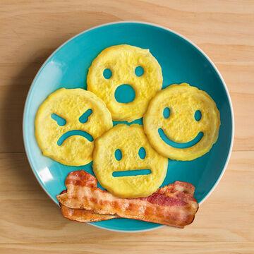Fred Ring Egg Emoji Molds, Set of 4