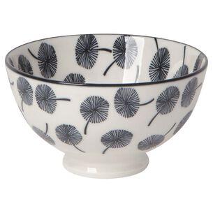 "Stamped Dandelion Pattern Bowl, 4"""