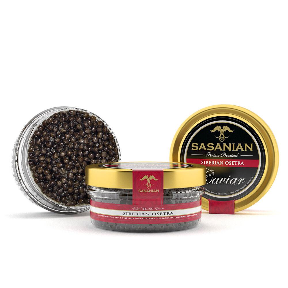 Caviar & Caviar Siberian Sturgeon Caviar