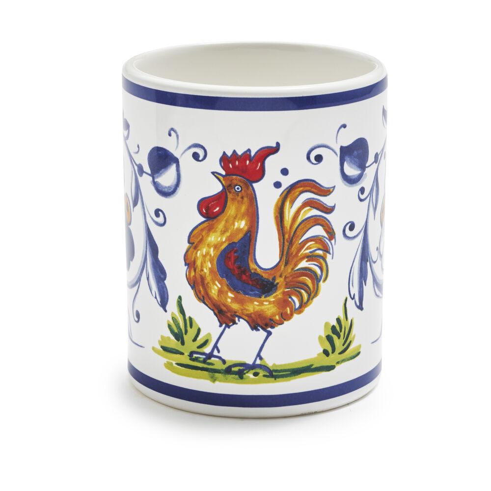 Nova Deruta Rooster Mug, 13 oz.